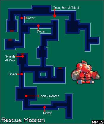 Rescue Mission Map