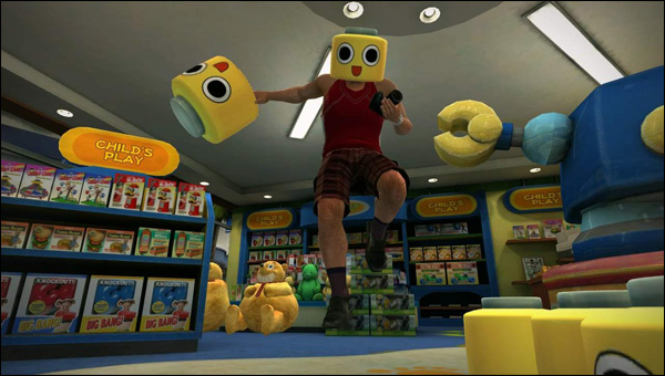 Servbots in Dead Rising