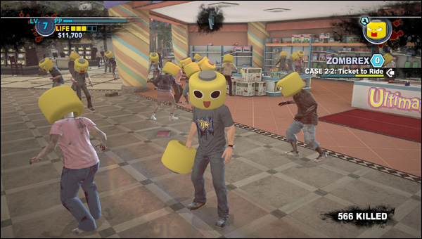 Servbots in Dead Rising 2